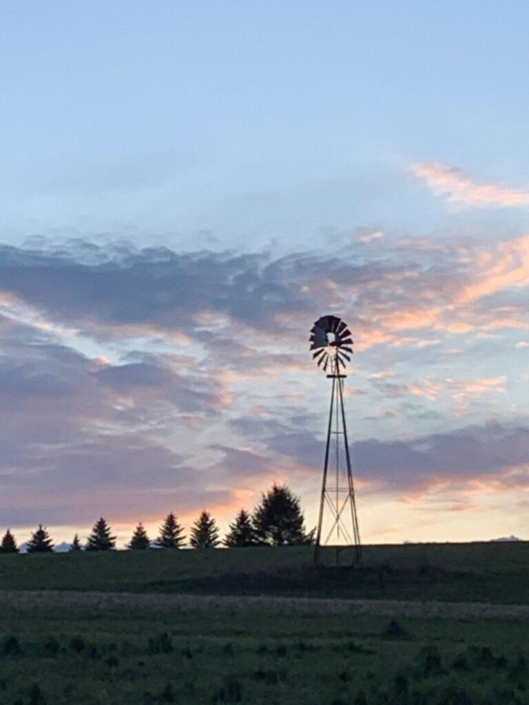 Windmill at Farm in Haverhill